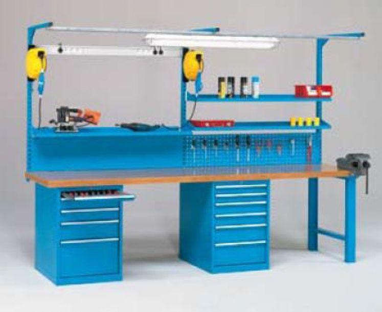 Portella equipaments mesas de trabajo equipamiento - Mesa trabajo taller ...